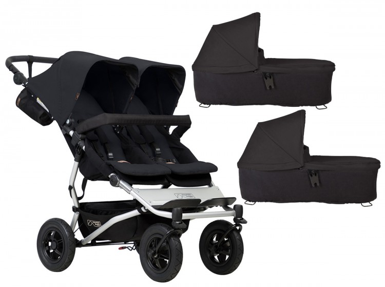 Коляска (2 в 1) для двойни Mountain buggy Duet 3.0