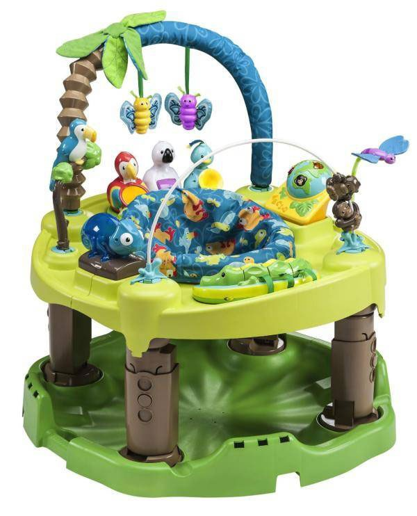 Evenflo Игровой центр ExerSaucer Life in the Amazon